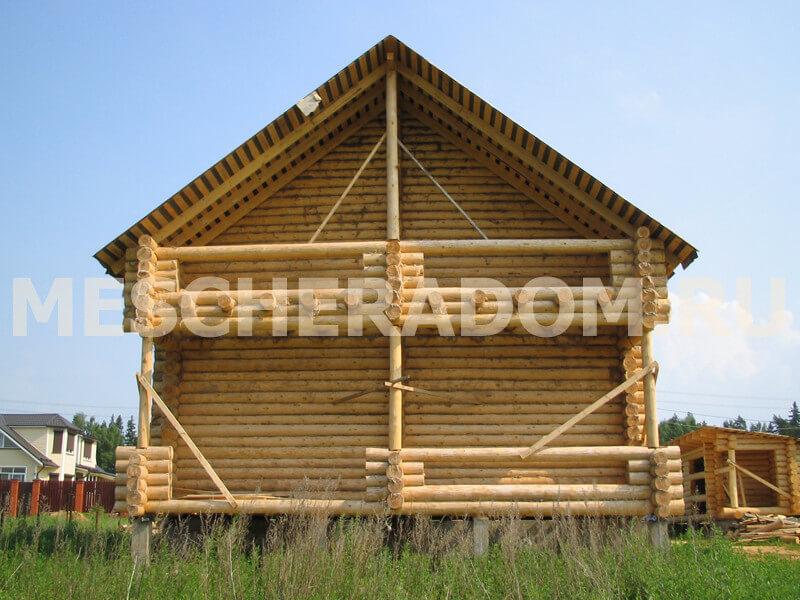 Деревянные дома, строительство недорого под ключ, на заказ